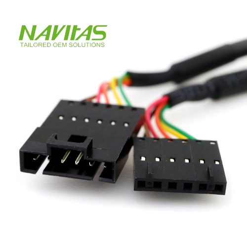 small resolution of molex 6pin 2 54mm male to female connector custom wiring harness assembly