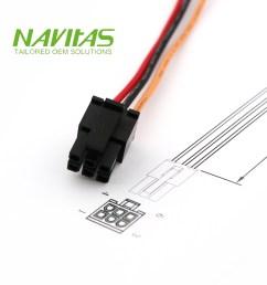 taiwan molex 43025 6 pin 3 0mm pitch custom wiring harness assembly taiwantrade [ 1000 x 1000 Pixel ]