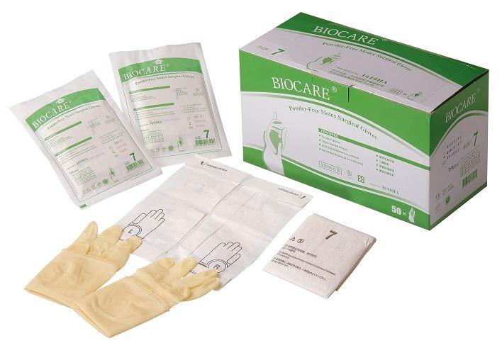 臺灣手術手套(無粉 濕穿戴) | 華新橡膠工業股份有限公司
