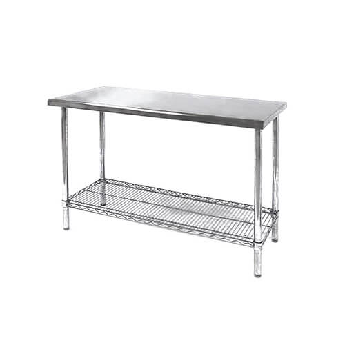 metal wire shelves display table histar