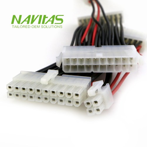 small resolution of taiwan 20 4 pin atx psu cable adapter custom wiring harness assembly taiwantrade