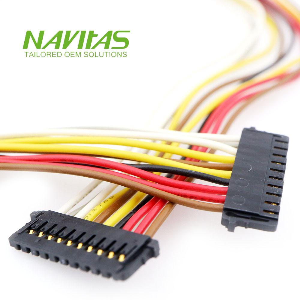 hight resolution of taiwan molex 504051 10pin 1 5mm pitch custom wiring harness taiwantrade