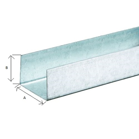 Drywall Partition Frame U-Runner   臺灣經貿網Taiwantrade