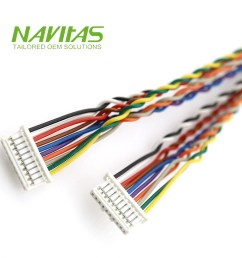 taiwan molex 501330 10pin 1mm female powering connector custom cable assembly taiwantrade [ 1000 x 1000 Pixel ]