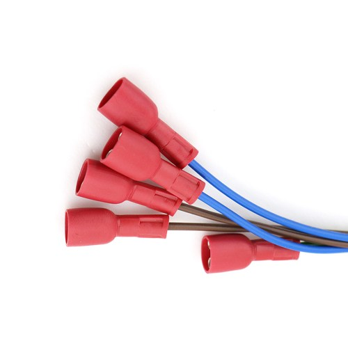 small resolution of molex 3 pin 3 96 mm to insulated ring crimping terminal custom wiring harness assembly