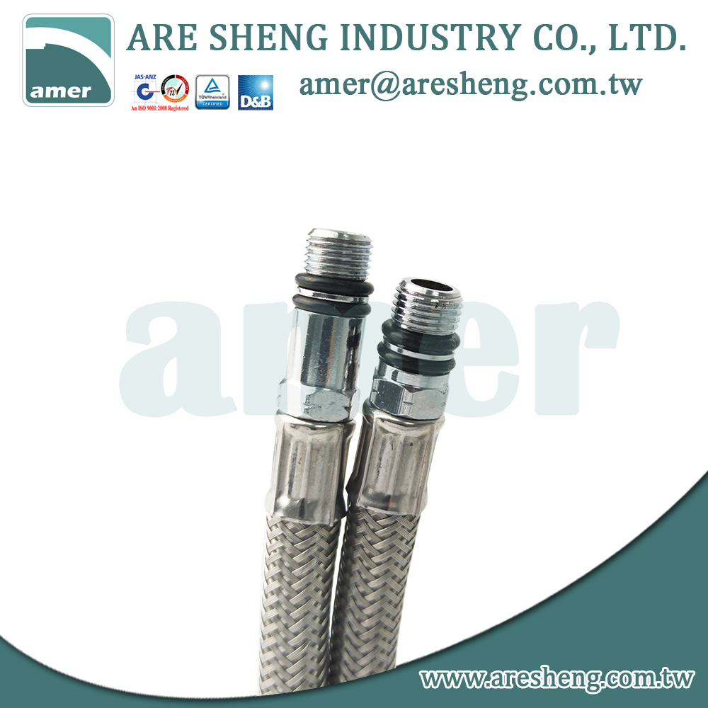 s s braided modern mixing faucet hose