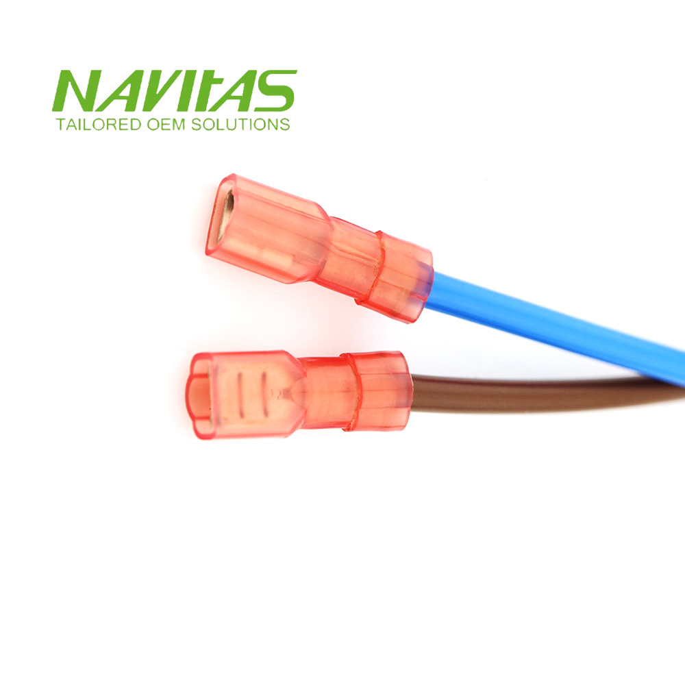 medium resolution of jst quick connect spade terminal custom wiring harness assembly