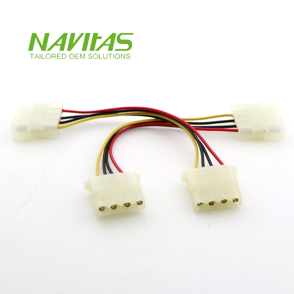 medium resolution of taiwan molex or tyco 4pin powering connector custom wire harness cable assembly taiwantrade
