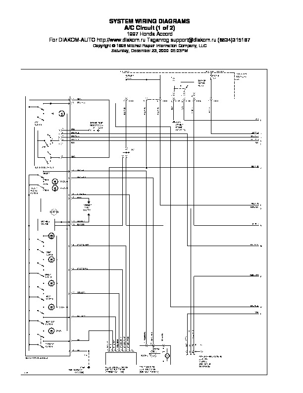 Honda_Accord_97_wiring_diagram pdf HONDA Accord 97