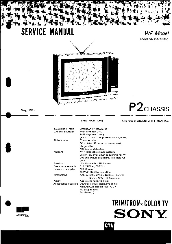 TV KV-2054.pdf SONY kv-2054 – Diagramasde.com
