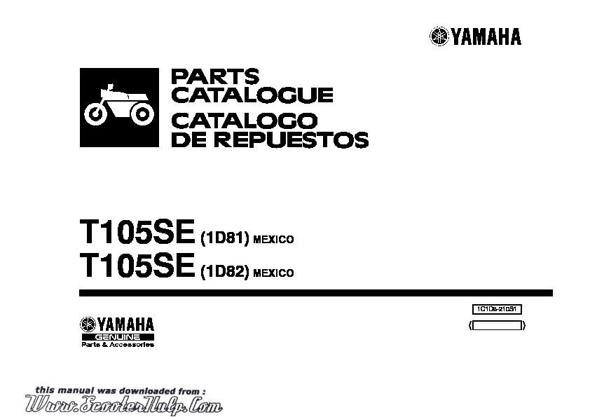Yamaha Crypton Parts Manual.pdf YAMAHA Parts manual YAMAHA
