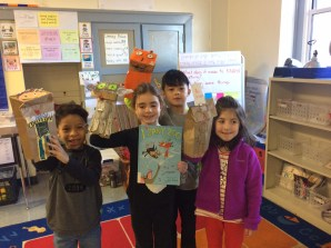We made puppets from 1 Zany Zoo!