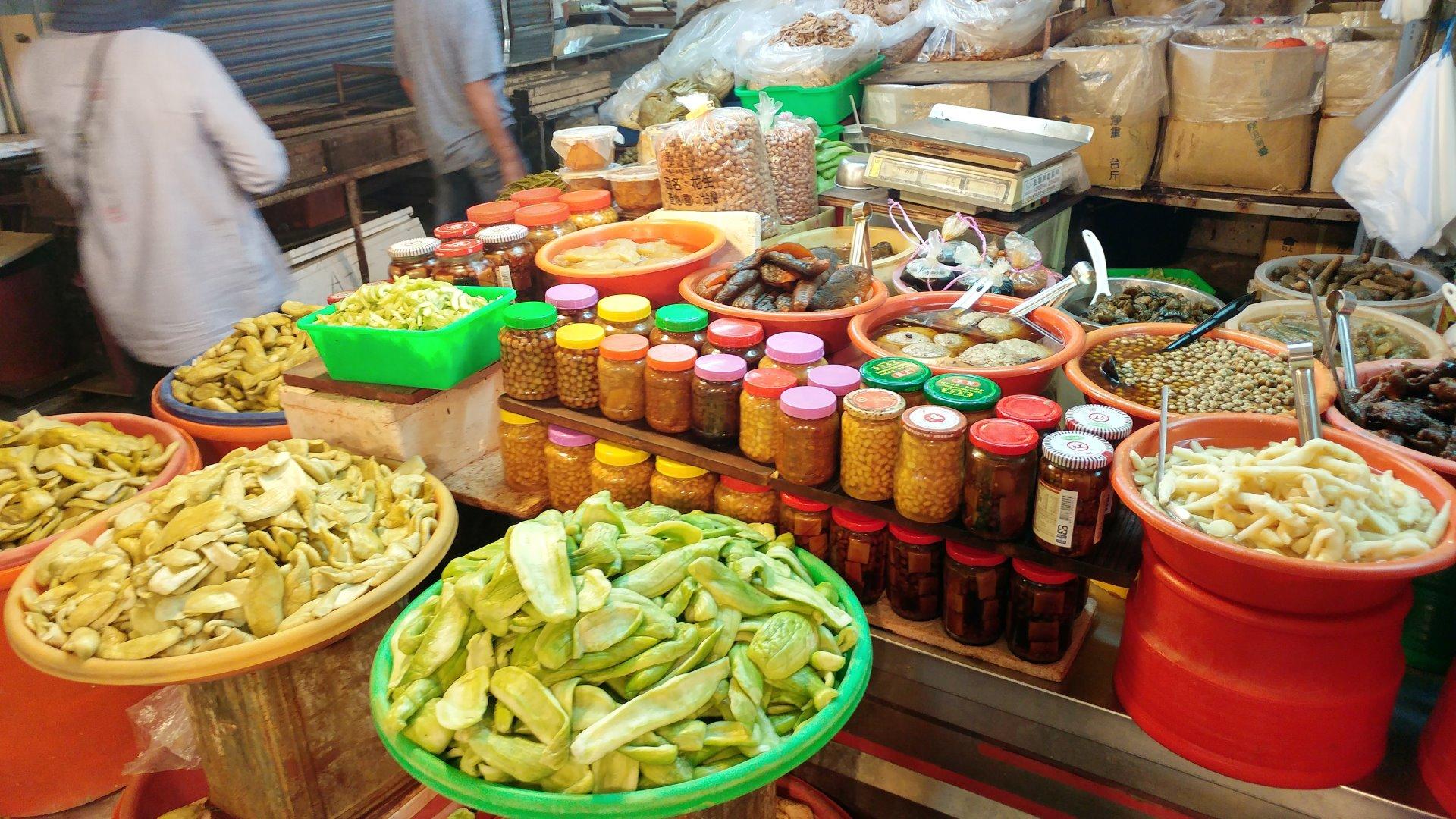 樸子市場的醬菜攤 – im5481
