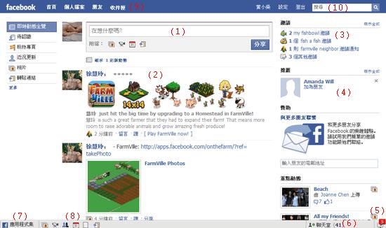 Facebook教學-面板基本操作1