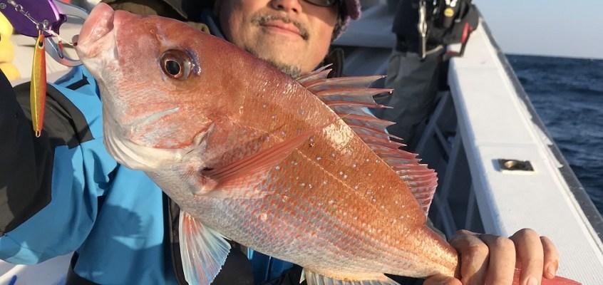 日立久慈沖の大鯛を求めて