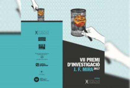convocatoria del VIII Premio de Investigación J. F. Mira