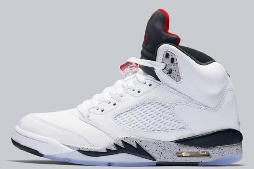 %name White Cement  Air Jordan 5 Releasing In Sizes For The Whole Fam