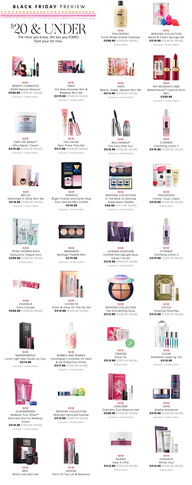 Sephora Black Friday 2019 : sephora, black, friday, BLACK, FRIDAY, CYBER, MONDAY, Beautygeeks
