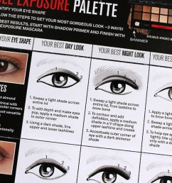 ya gotta love a helpful how to chart that comes with your makeup  [ 1200 x 800 Pixel ]