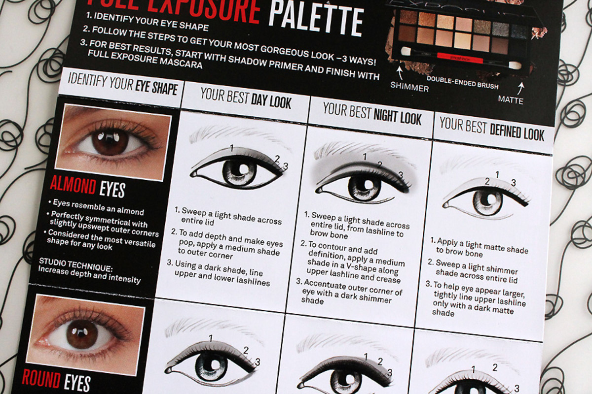 hight resolution of ya gotta love a helpful how to chart that comes with your makeup