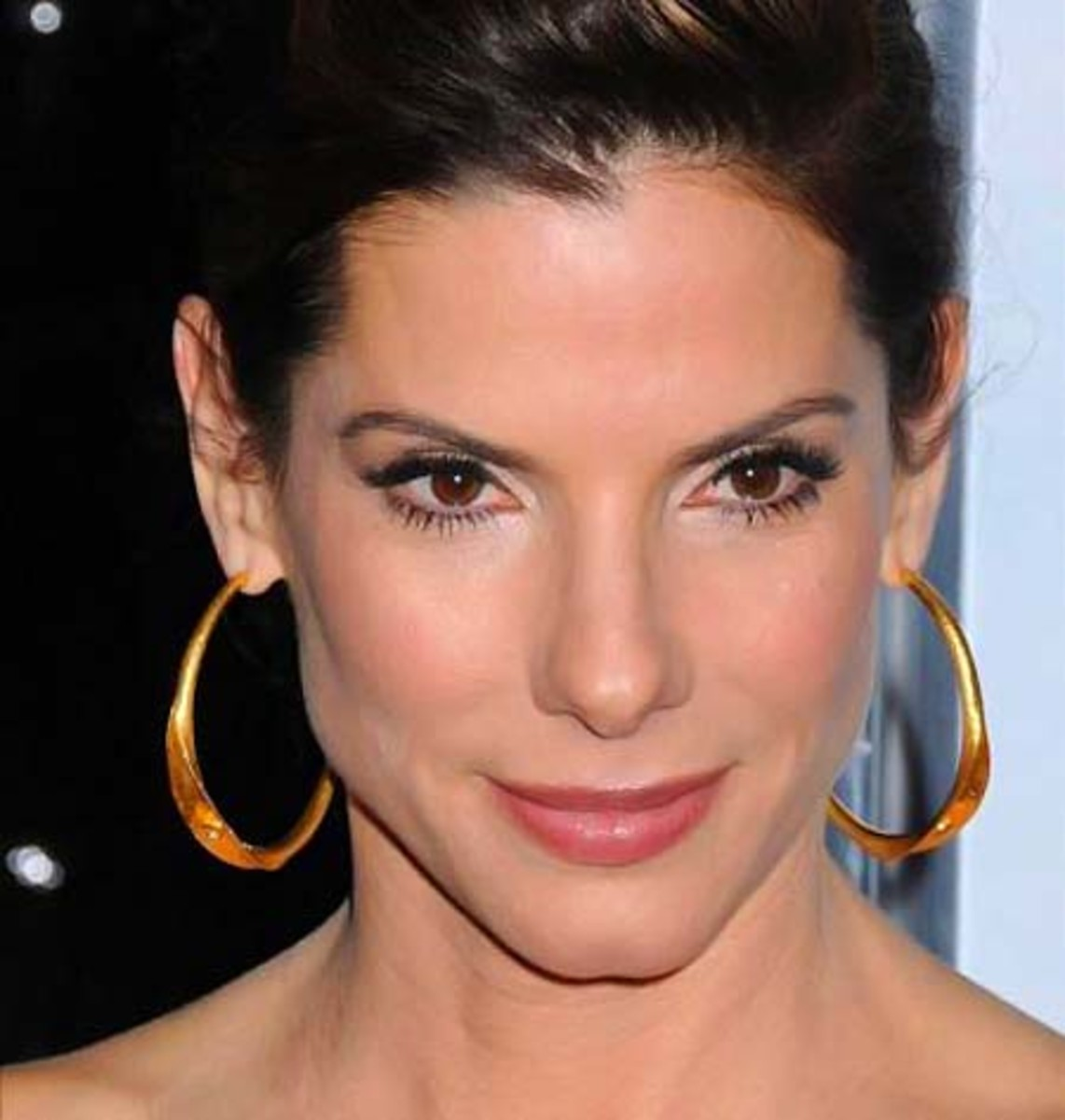 Multiplicity Many Eye Makeup Faces Of Sandra Bullock Beautygeeks