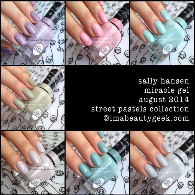 Miracle Gel Value Pack Top Coat And Nail Polish In Red Eye By Sally Hansen