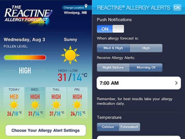 Reactine Allergy Medicine - Year of Clean Water