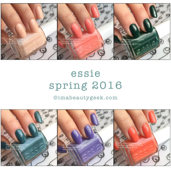 Essie Spring 2016 Nail Polish Collection