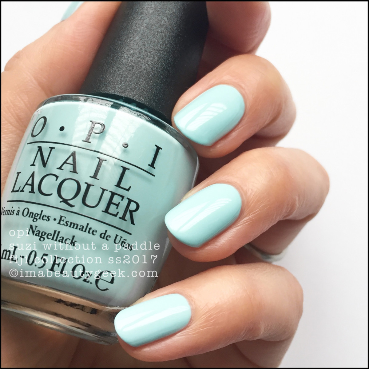 Opi Suzi Without A Paddle Fiji Collection Swatches Review Ss2017
