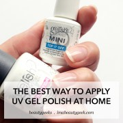 apply uv-gel polish