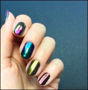 chrome nail polish - beautygeeks
