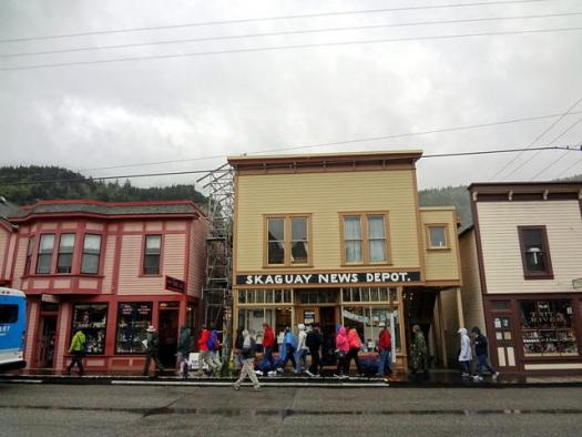 Wander around Skagway past the cruise port jewelry stores