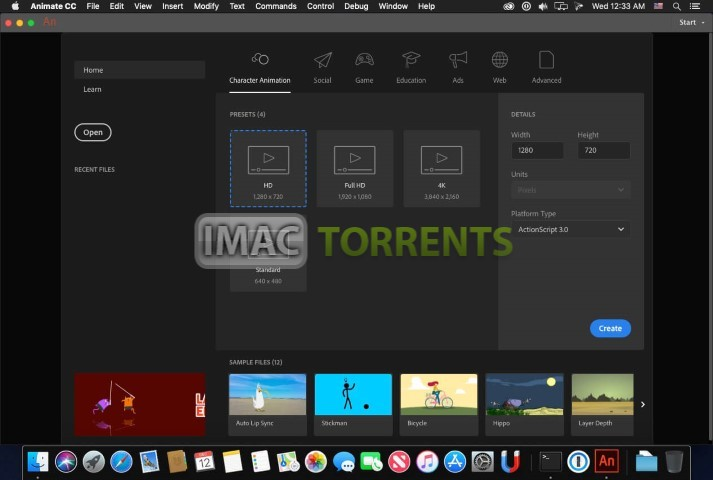 Adobe Animate CC 2019 v19.2.1 iMac Torrent