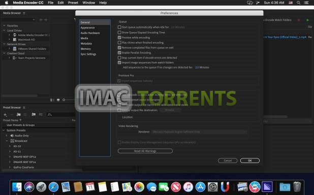 Adobe Media Encoder CC 2019 v13.1.3 iMac-Torrent