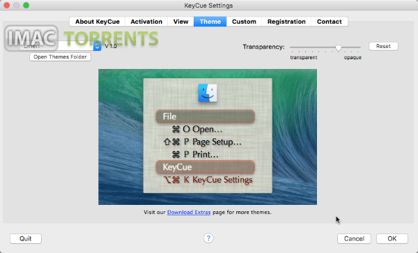 KeyCue 9.4 Mac OSX Torrent