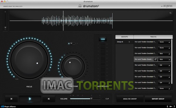 Accusonus Drumatom 2.2.1 Free For Mac