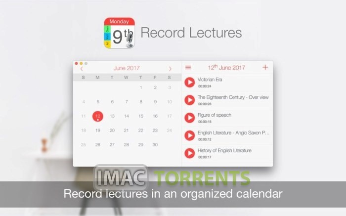 Record Lectures 3.1.3 macOS Full