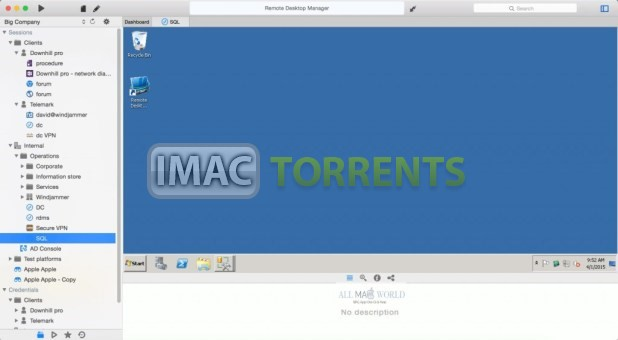 Remote Desktop Manager Enterprise 2020.2.0 Full macOS