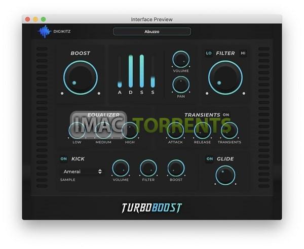Digikitz Turbo Boost 1.0 Full macOS