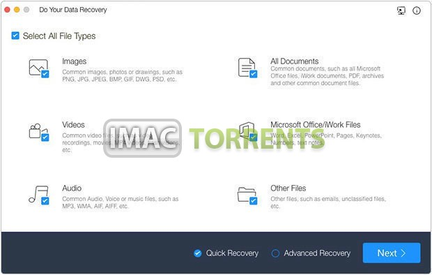 Do Your Data Recovery Professional 7.7 Full macOS