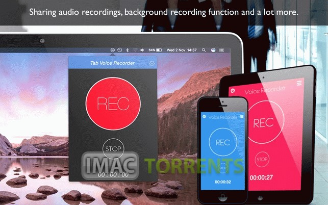 Tab Voice Recorder Pro 1.4 Full macOS