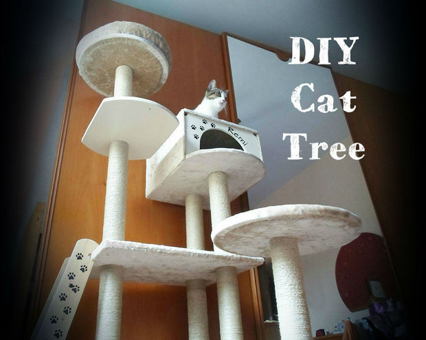 DIY Cat Tree by Instructables