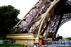 Base of the Eiffel Tower 2016