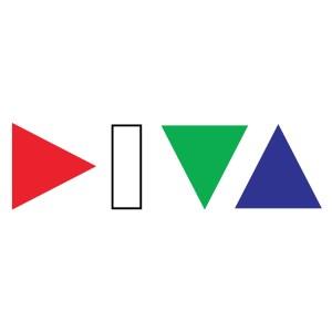 DIVA logo square white bg
