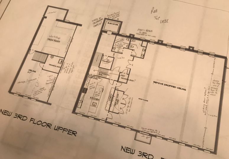 construction plan 3rd floor