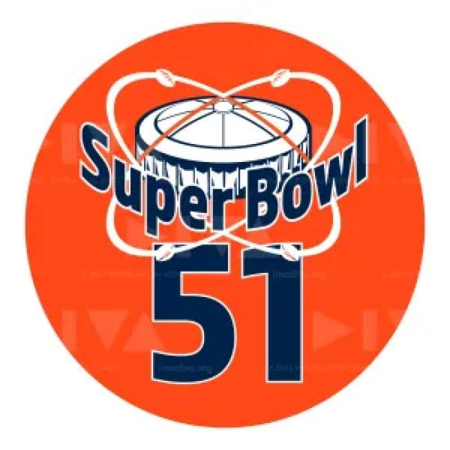 alternate 2017 Super Bowl 51 Houston logo design: Astrodome
