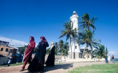 Lighthouse at the fort, Galle.
