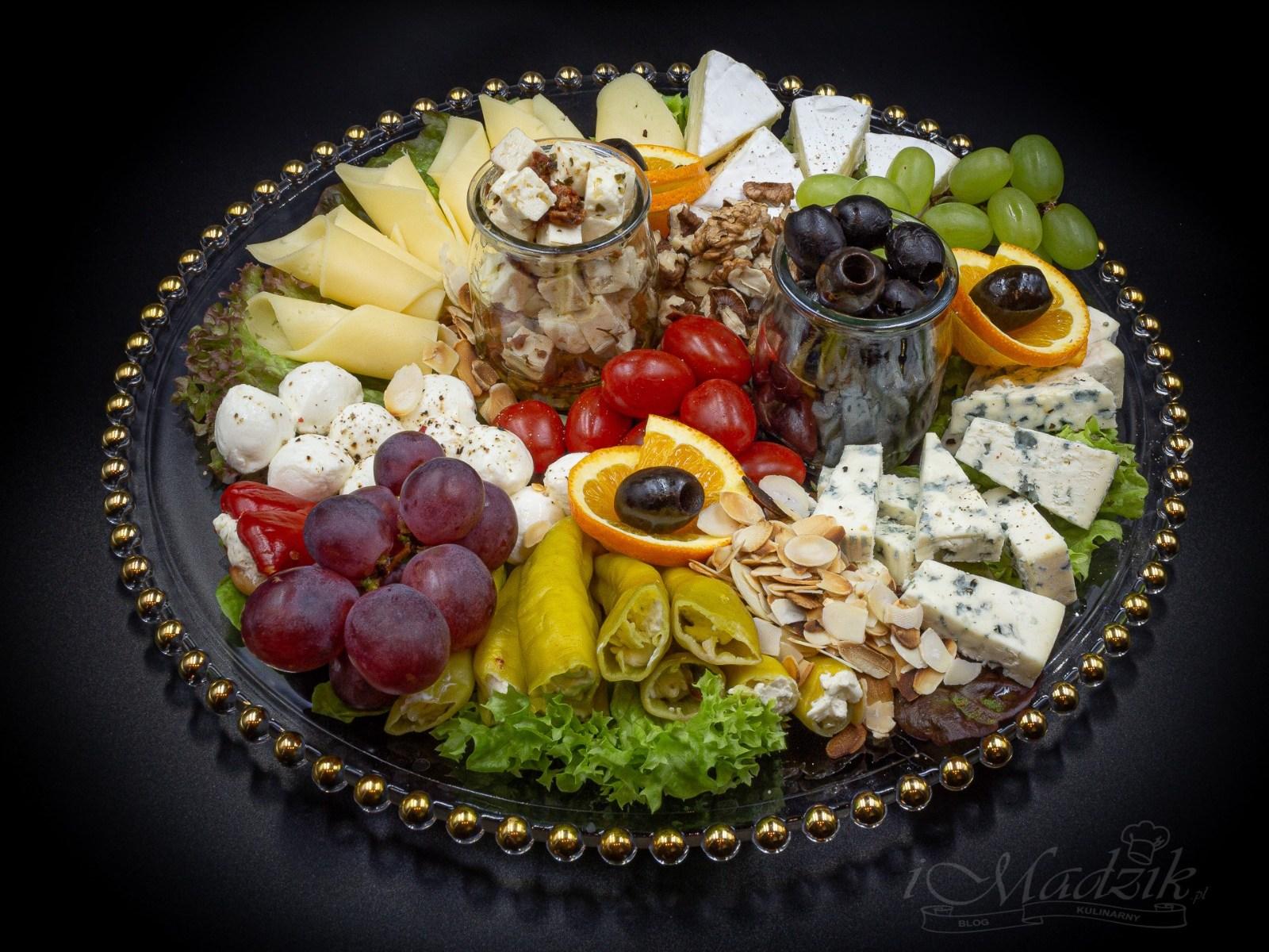Talerz serów
