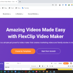 Website Review: Flexclip