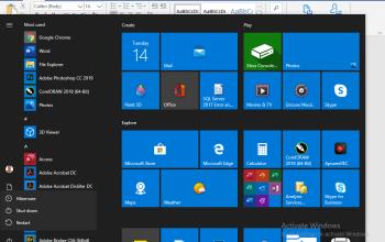 Hibernate button as power option in windows 10